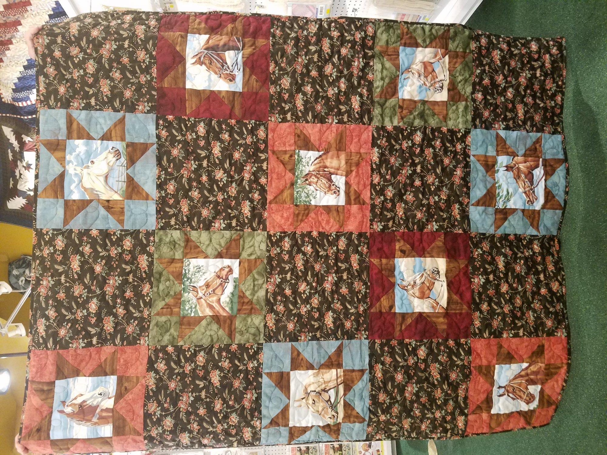 Purebred II Quilt Kit 56 x 70