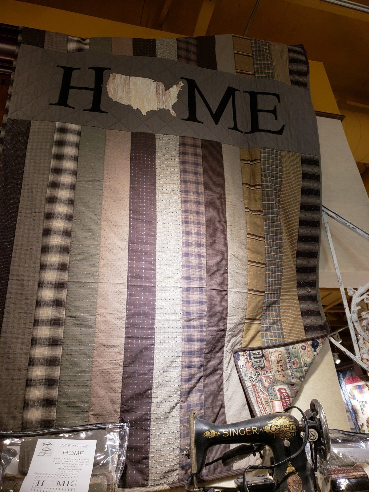 No Place Like Home - Homespun Kit