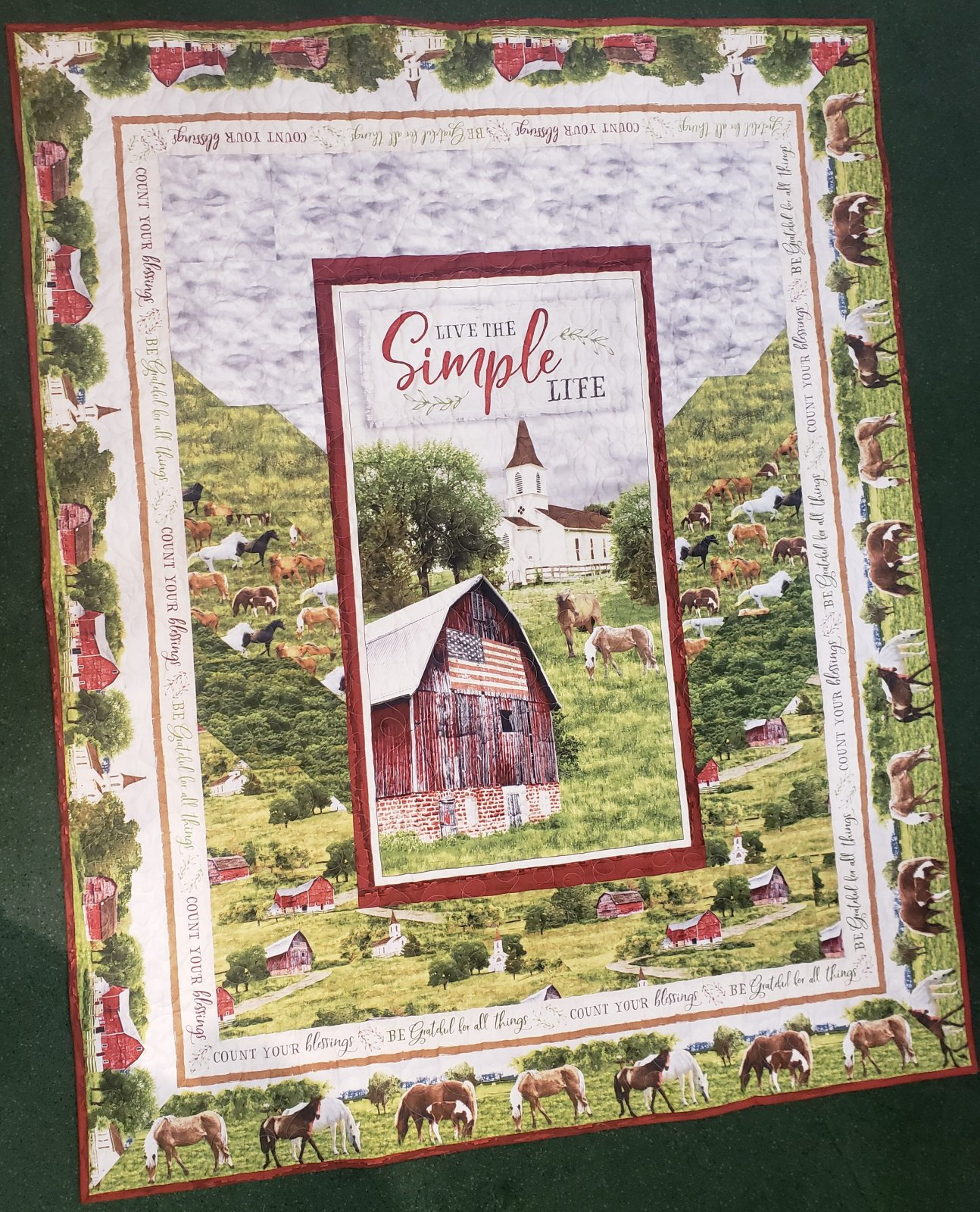 Farmstead Quilt Kit with Pattern