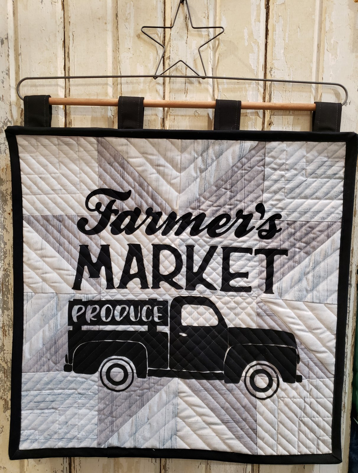 Produce Truck Pre-Cut & Prefused Applique Kit - Row by Row 2019 Taste The Experience