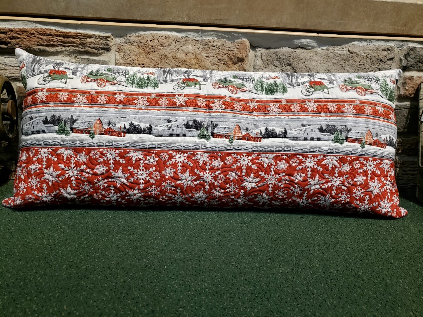 Holiday Homestead Bench Pillow Kit