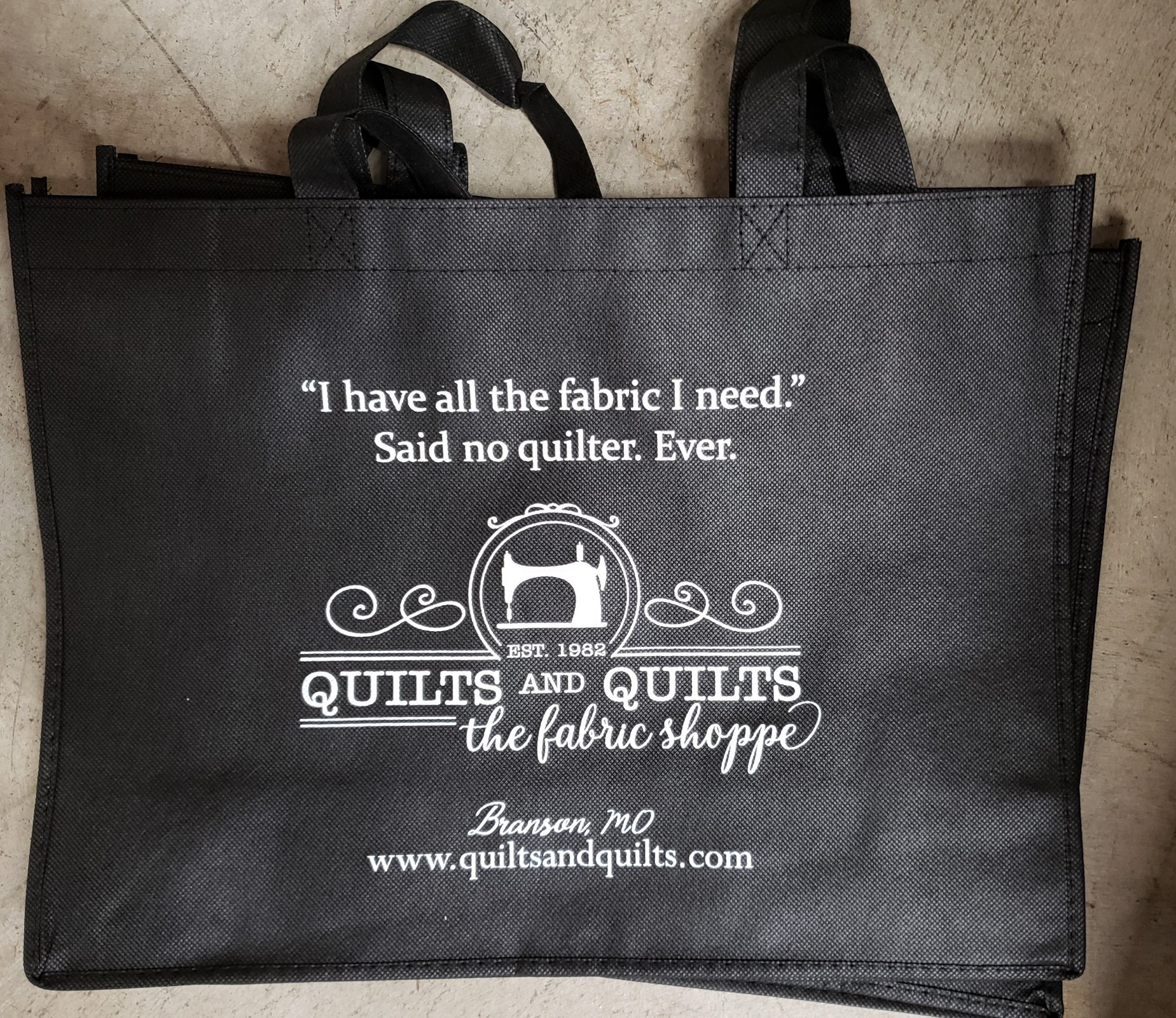 Quilts & Quilts Tote Bag - All the Fabric I Need