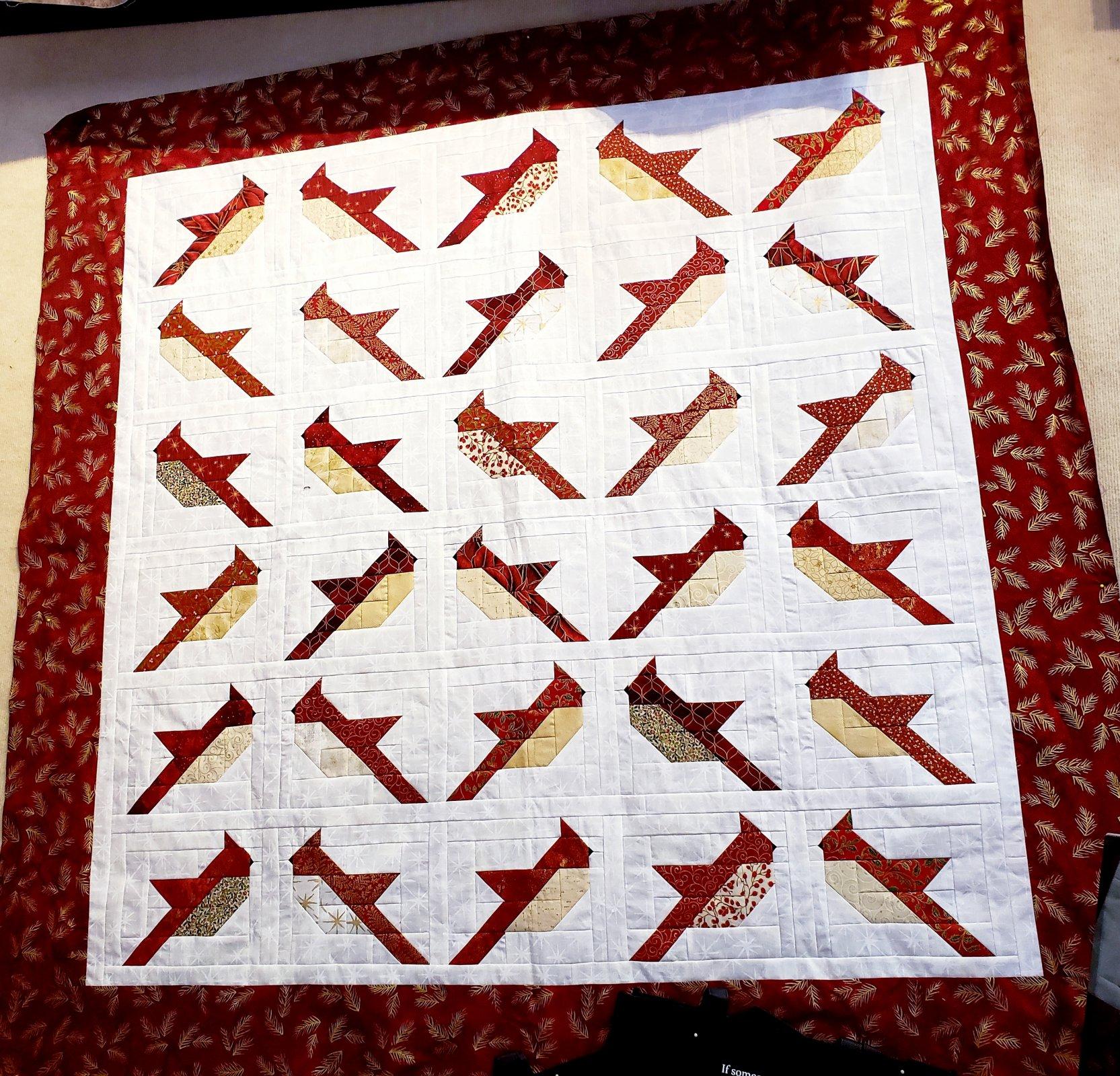 Cardinals Throw Kit - 58.75 x 60.5