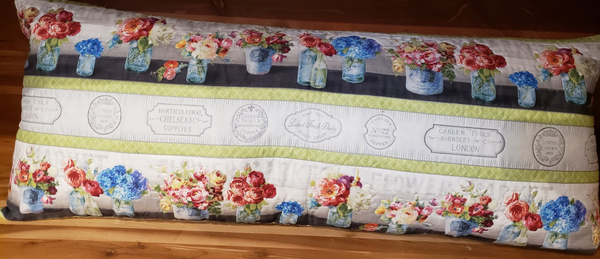 Bench Pillow Kit - Flower Market