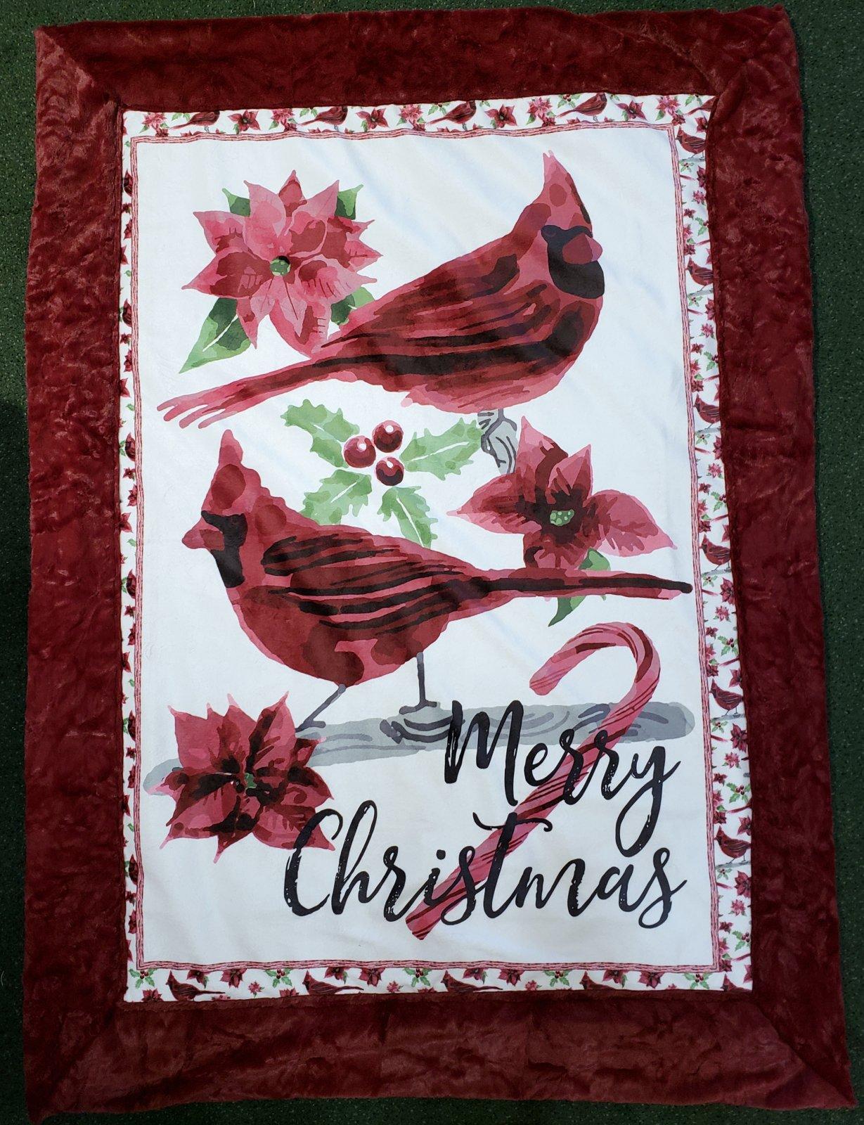 Cardinal 5 Minute Miter Cuddle Quilt Kit