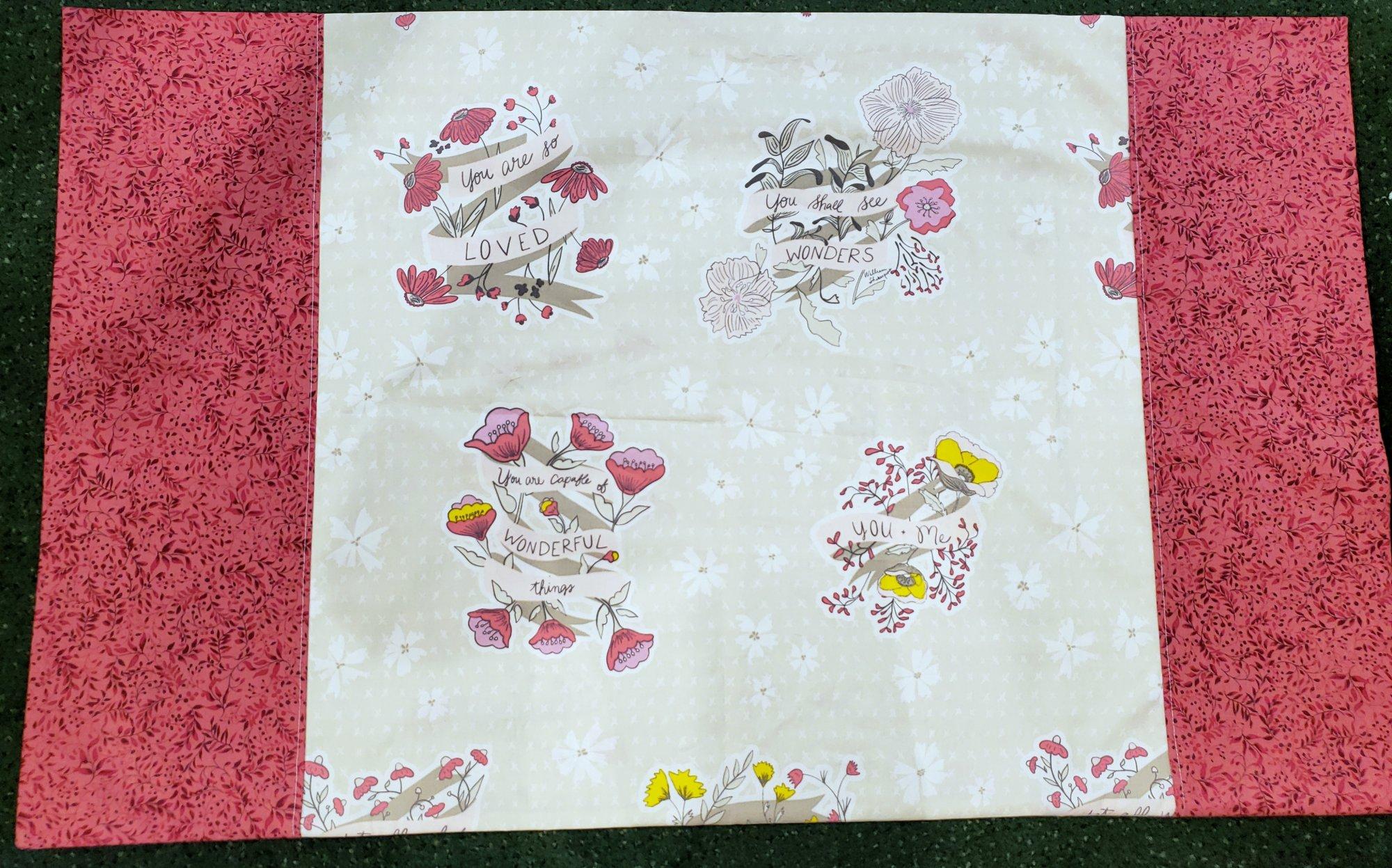 Panel Pillowcase Kit - Wonderful Things