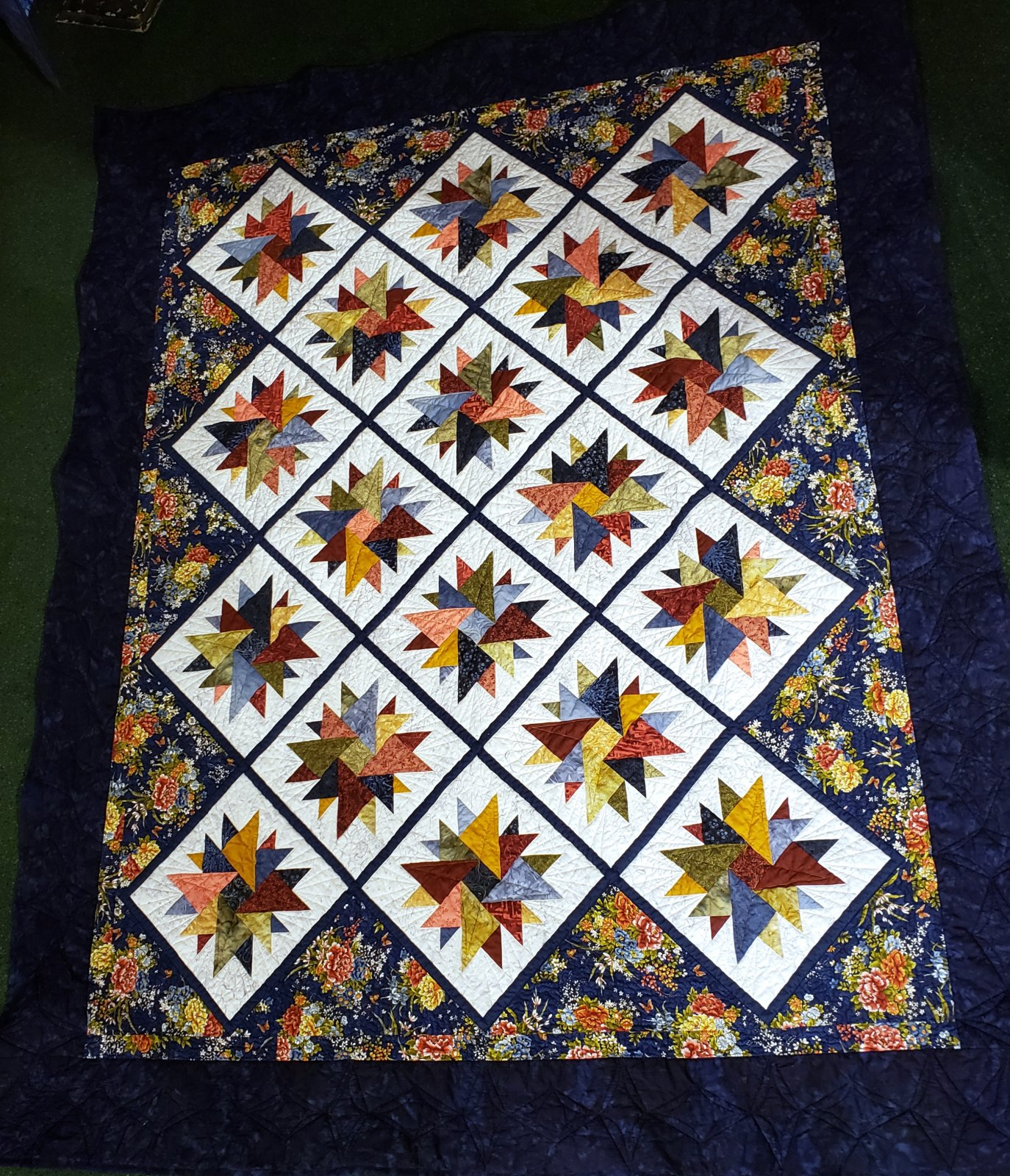 Diamond in the Rough Quilt Kit - 70 x 85
