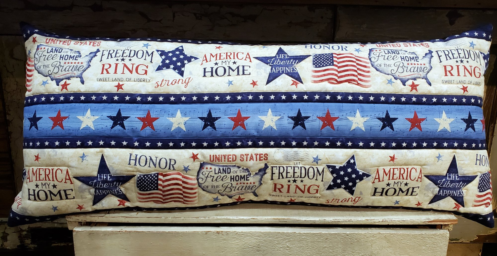America, My Home Bench Pillow Kit