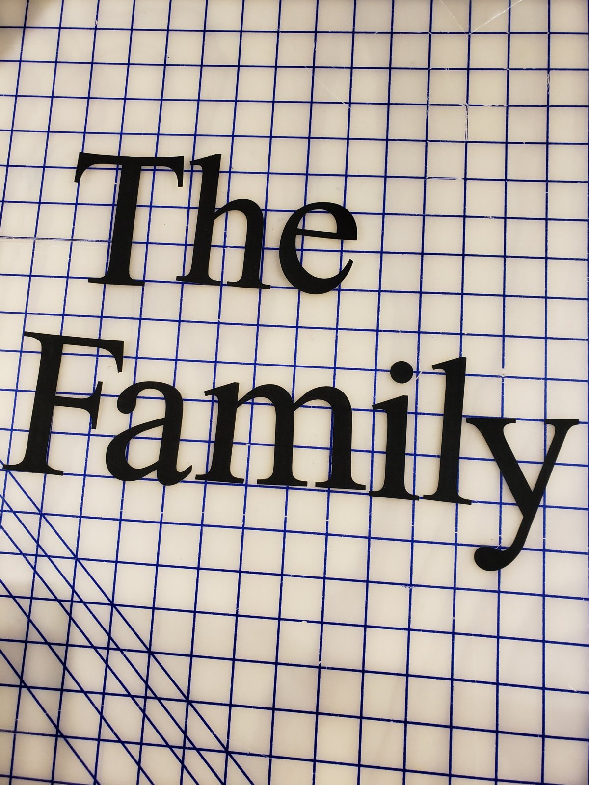 The Family - Pre-Cut and Pre-Fused Applique