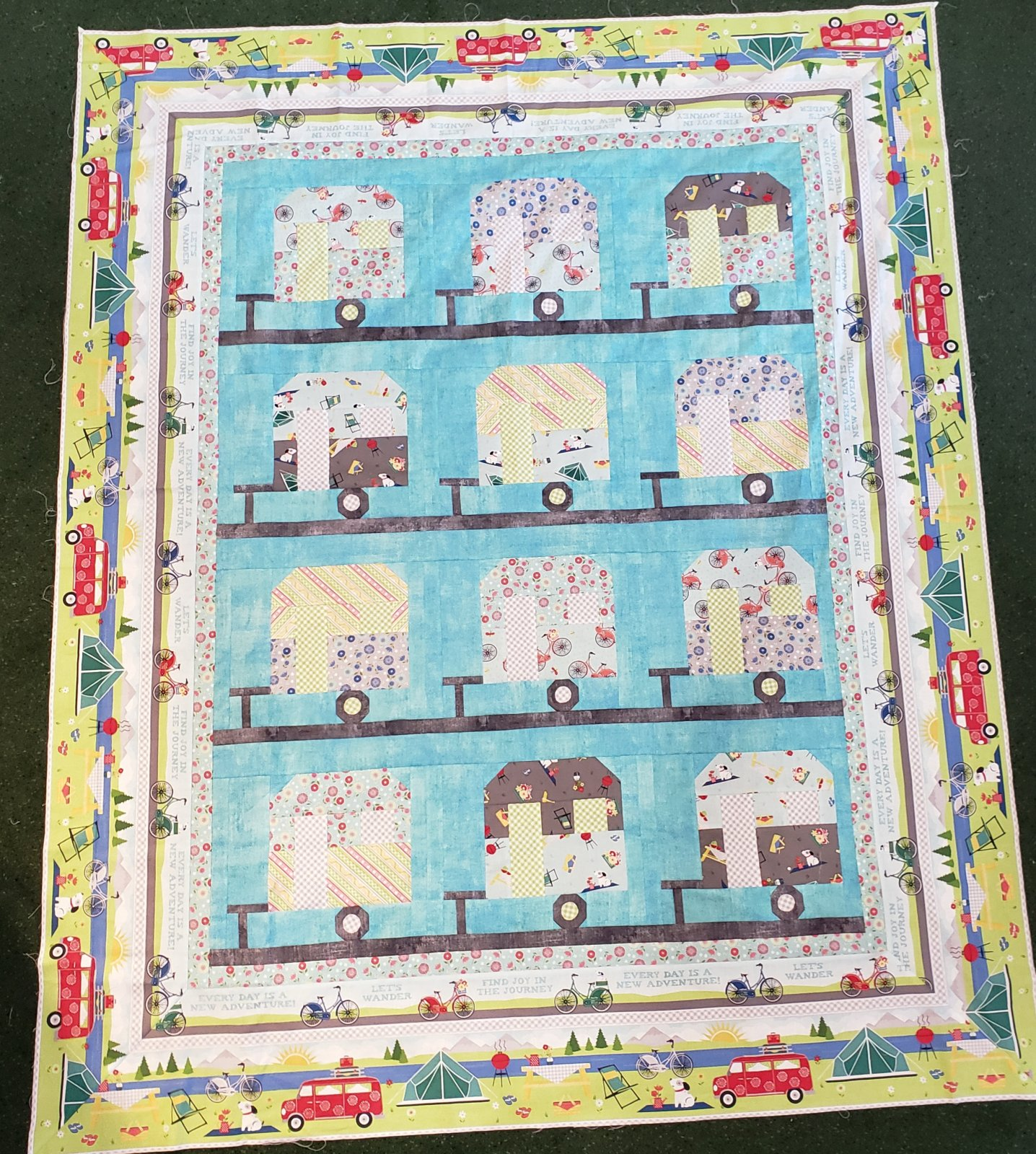 Adventure Time Throw - 58 x 71