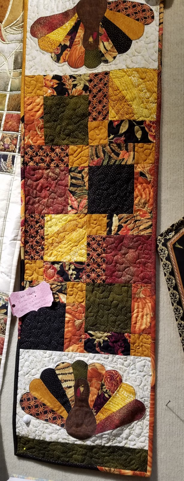 Oh The Possibilities... FOR FALL! Turkey Table Runner Kit