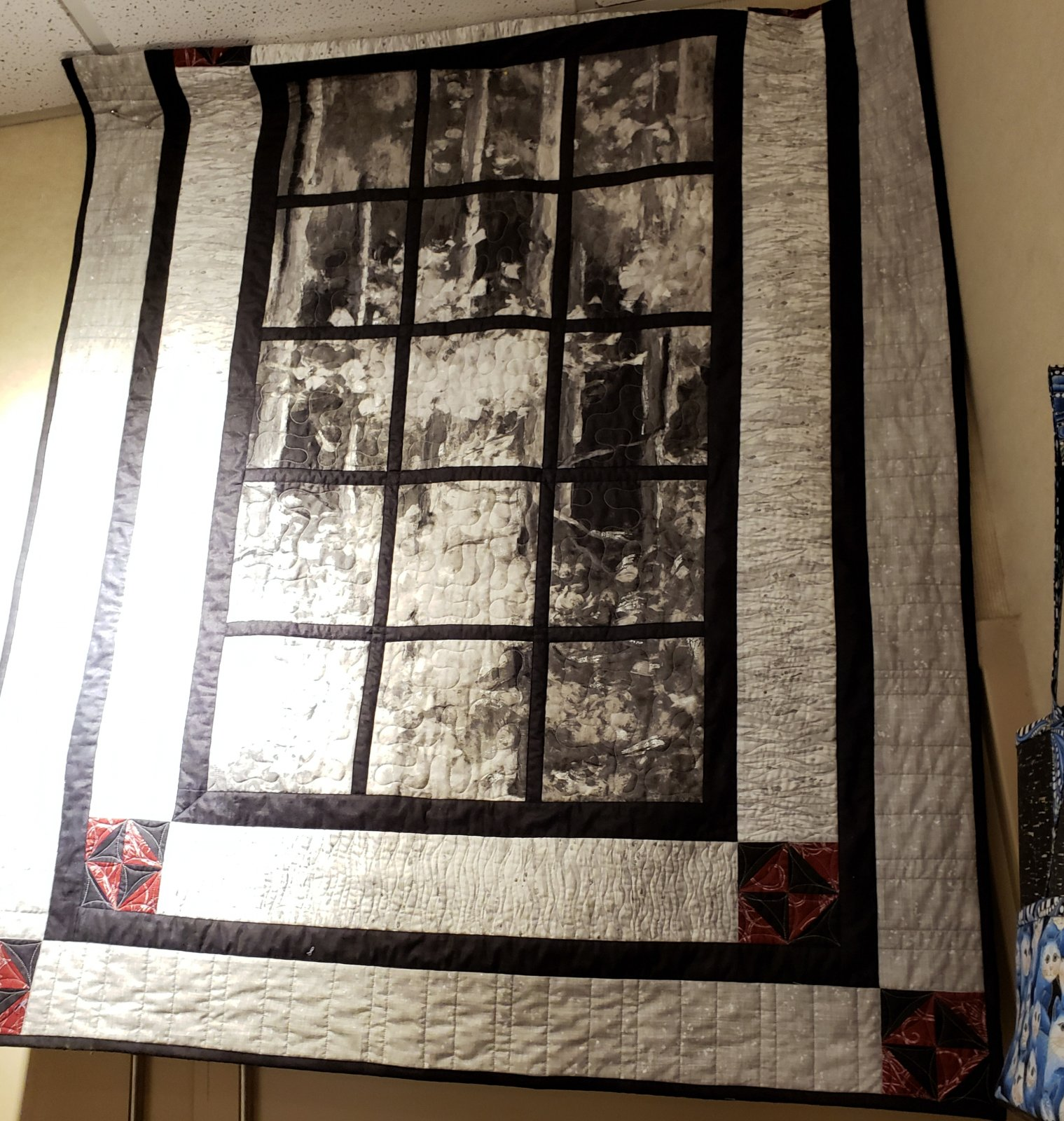 Alpine Retreat Sounds of the Woods Quilt Kit