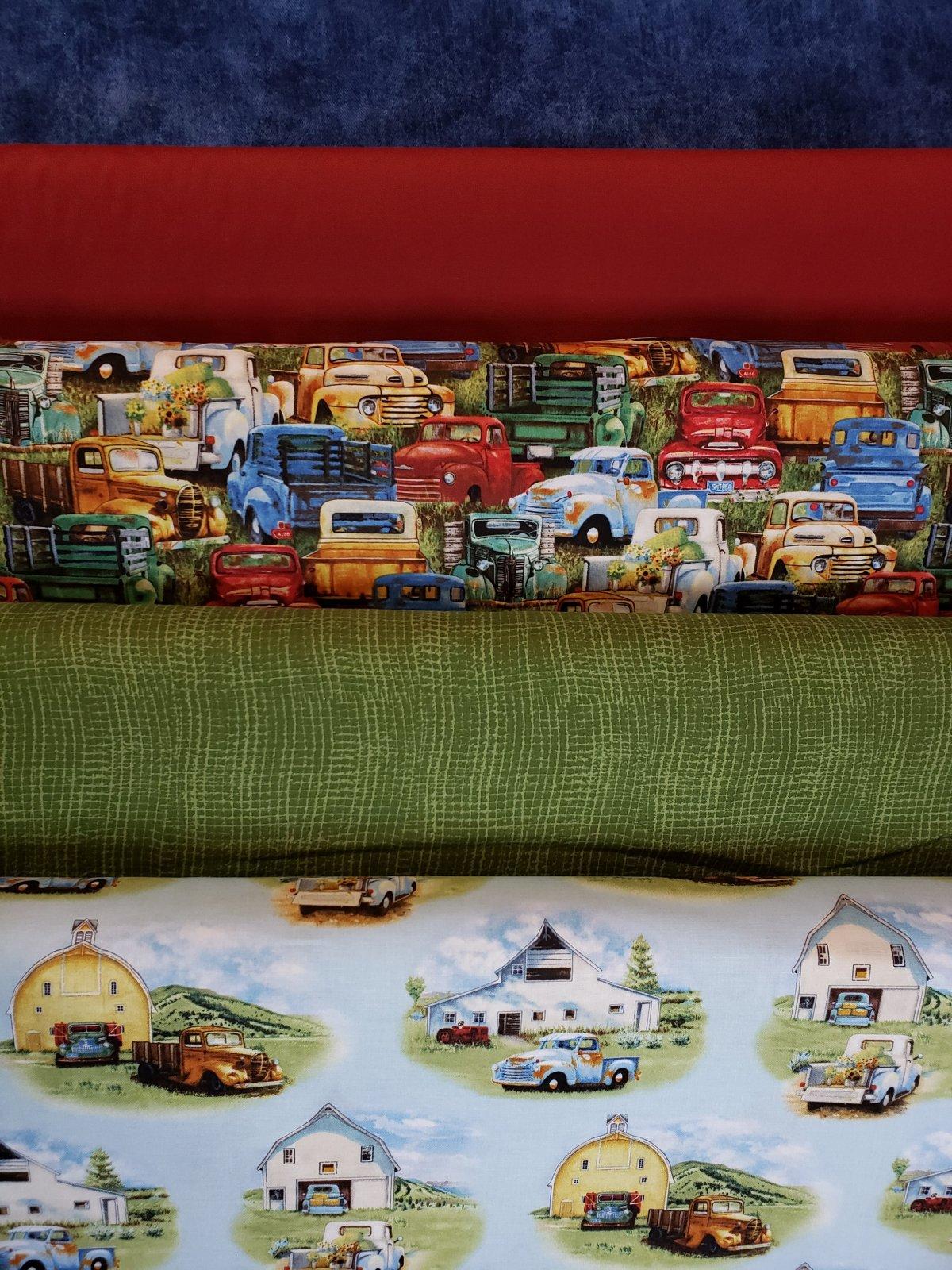 5 Yard Bundles - Vintage Trucks