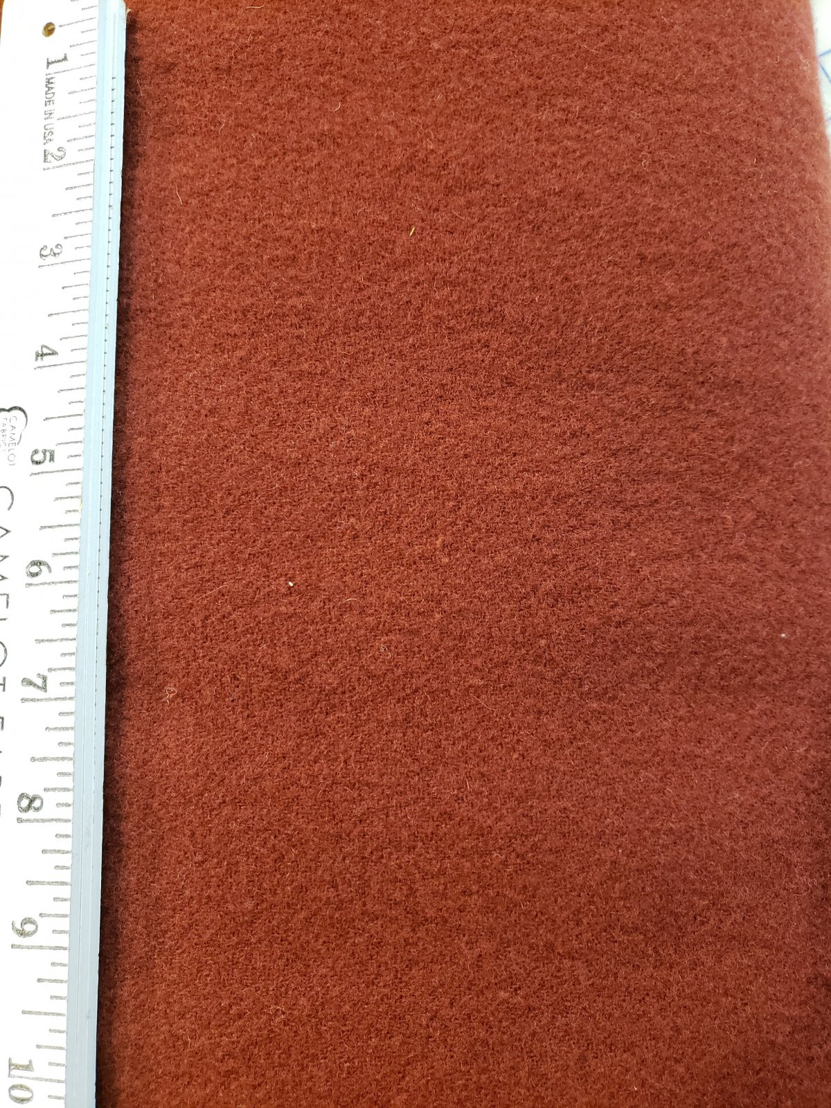 Wool - Dark Red