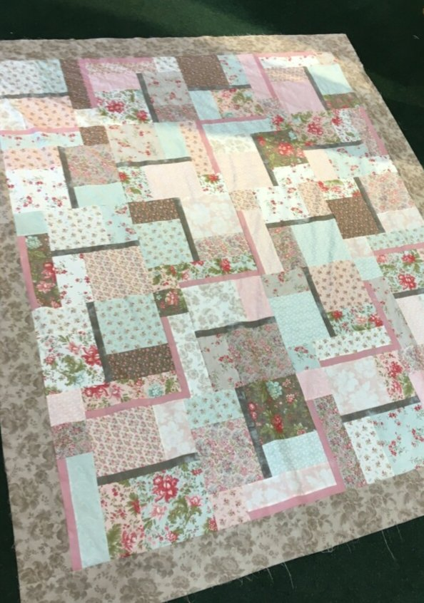 Old Town - Quilt #4 Kit 74.5 by 90.5 Finished Size