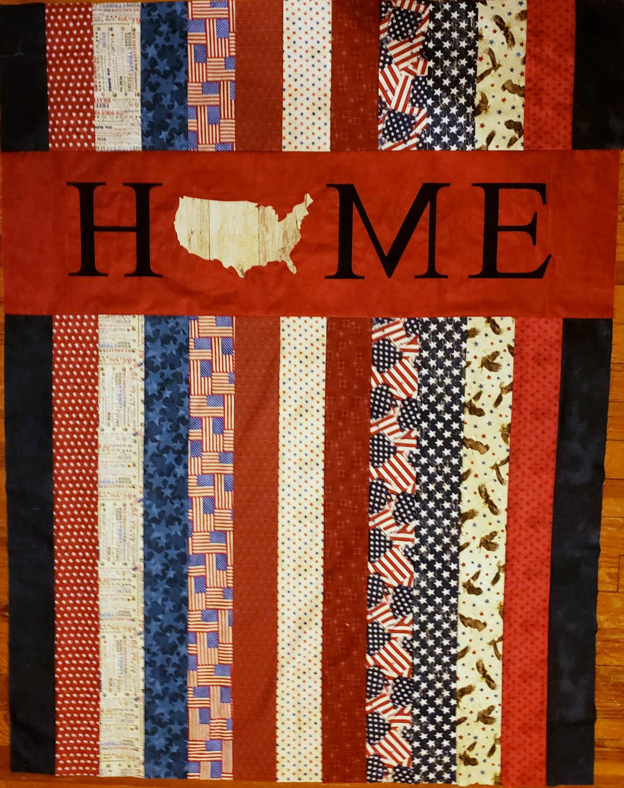 No Place Like Home - Patriotic Quilt Kit