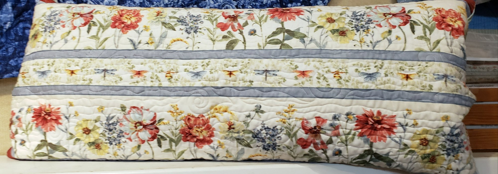 Bench Pillow Kit - Sketchbook Garden