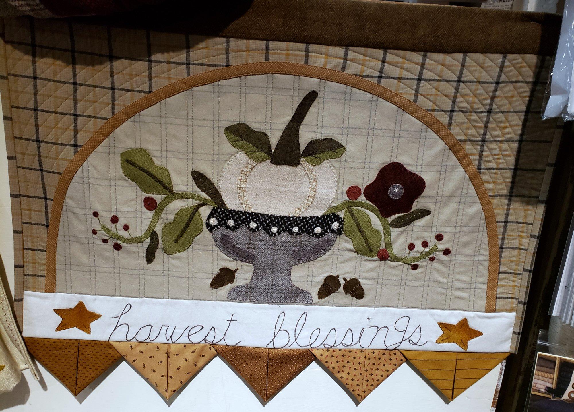 Harvest Blessings Wool & Cotton Kit