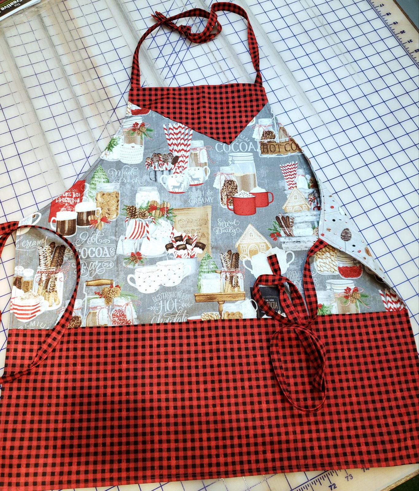 Mom and Me Hot Cocoa Bar Apron Kit