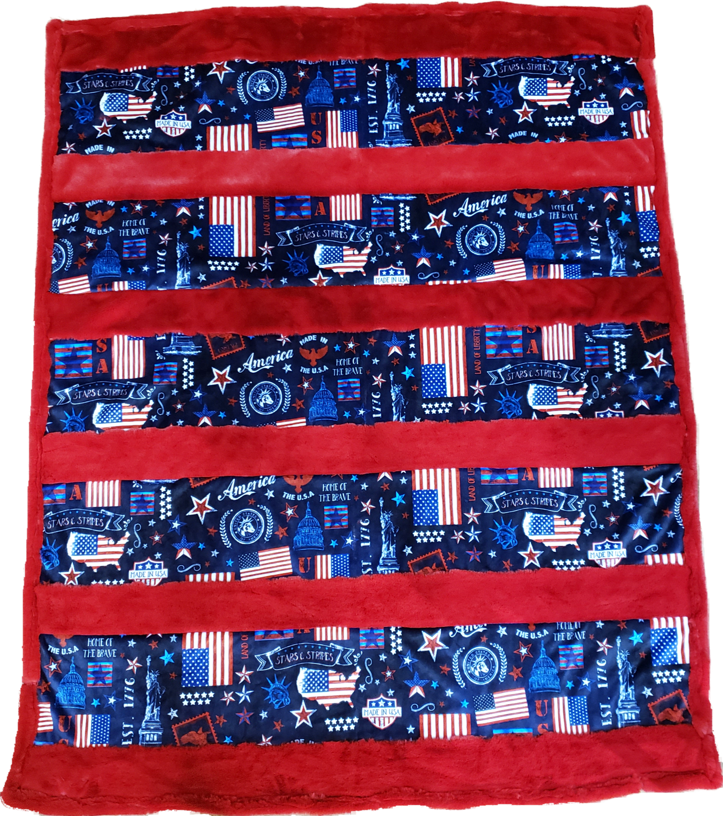 Crazy 8s Cuddle Kit - Americana