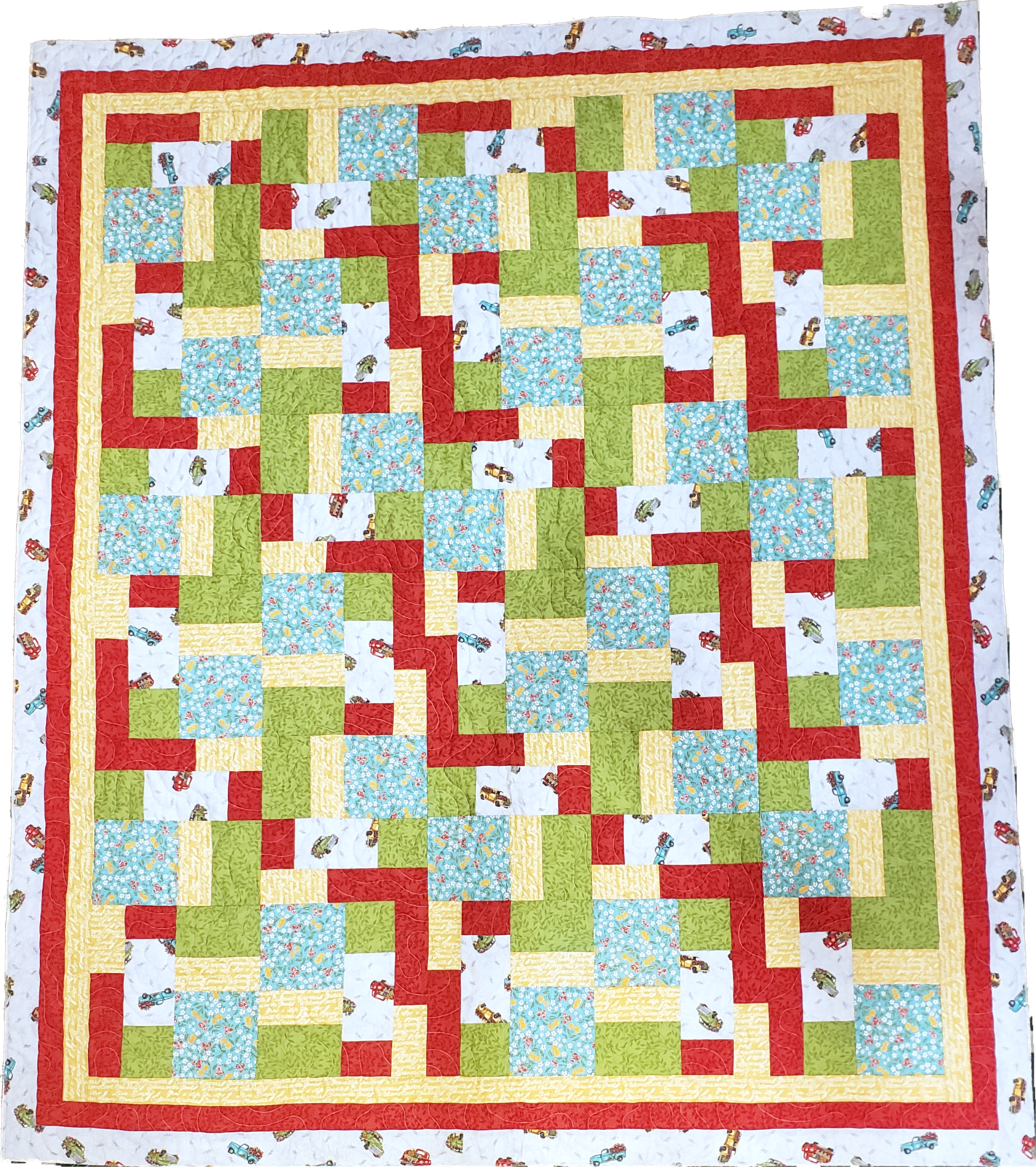 5 Yard Quilt Kit - Cultivate Kindness - No Matter