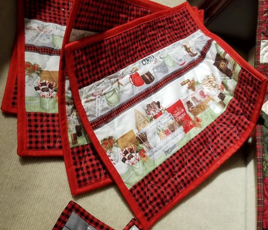 Hot Cocoa Bar Placemat Kit - Set of 4