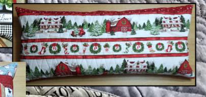Bench Pillow Kit - Evergreen Farm