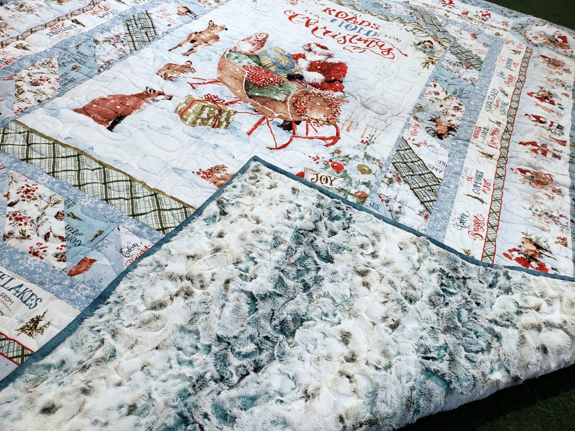 A Magical Christmas Backing Kit