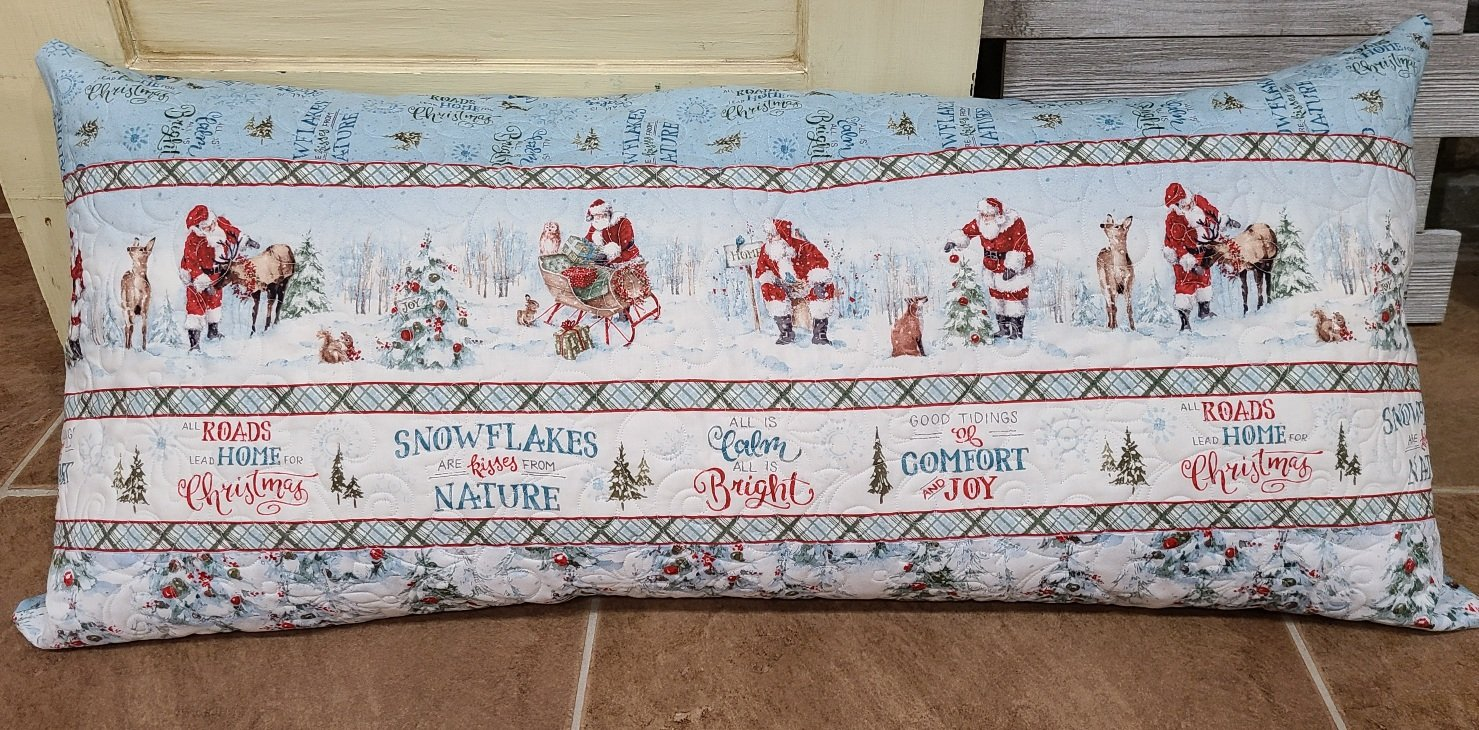 Bench Pillow Kit - A Magical Christmas
