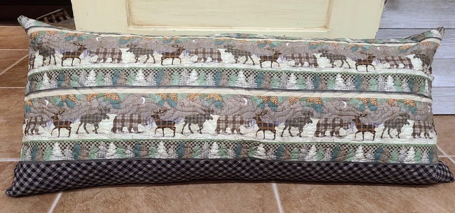 Bench Pillow Kit - Twilight Lake