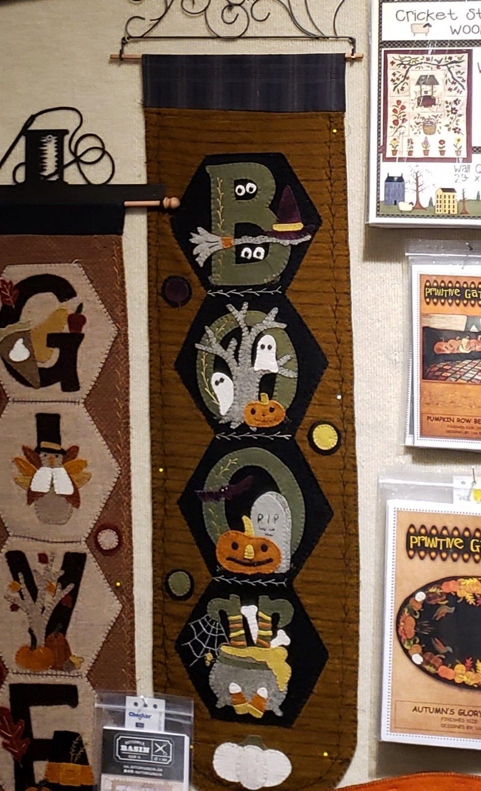 Hexi Door Greeter October Wool Kit