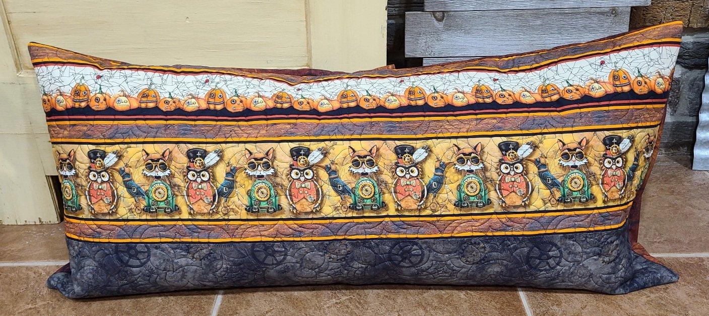 Bench Pillow Kit - Steampunk Halloween