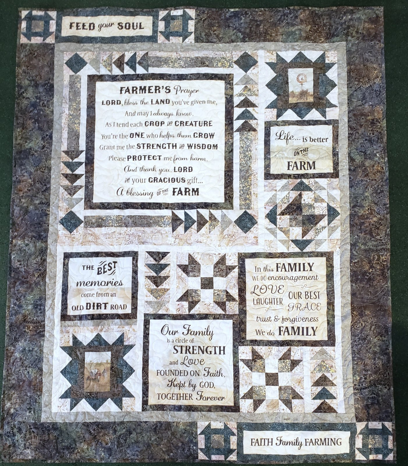 *PreOrder* Farmer's Prayer Quilt Kit