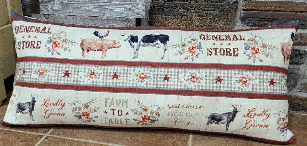 Bench Pillow Kit - Farmhouse Chic