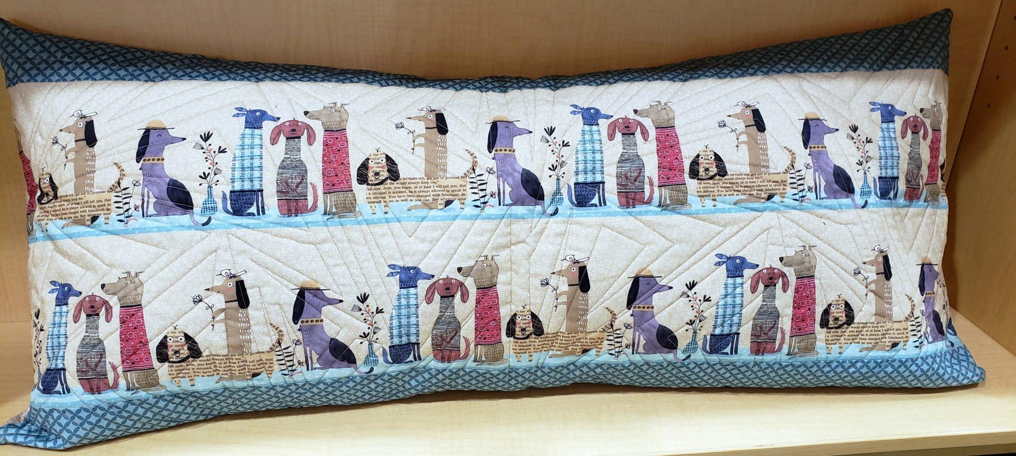 Bench Pillow Kit - It's Raining Dogs