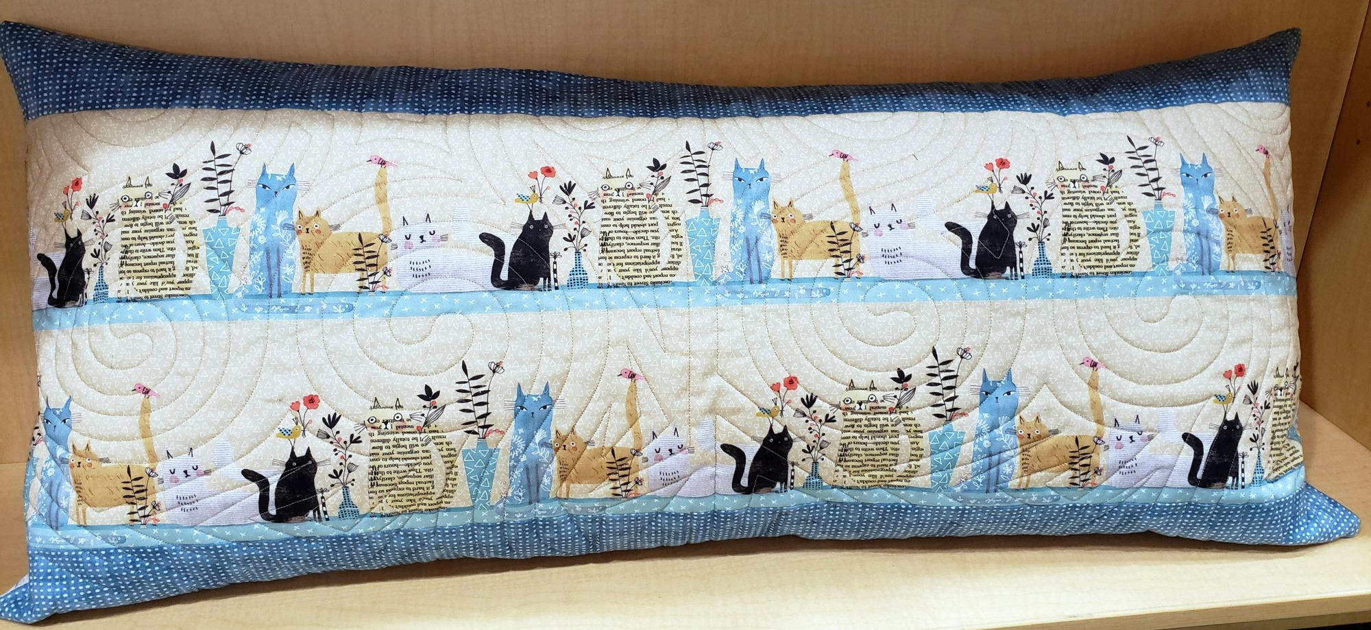 Bench Pillow Kit - It's Raining Cats