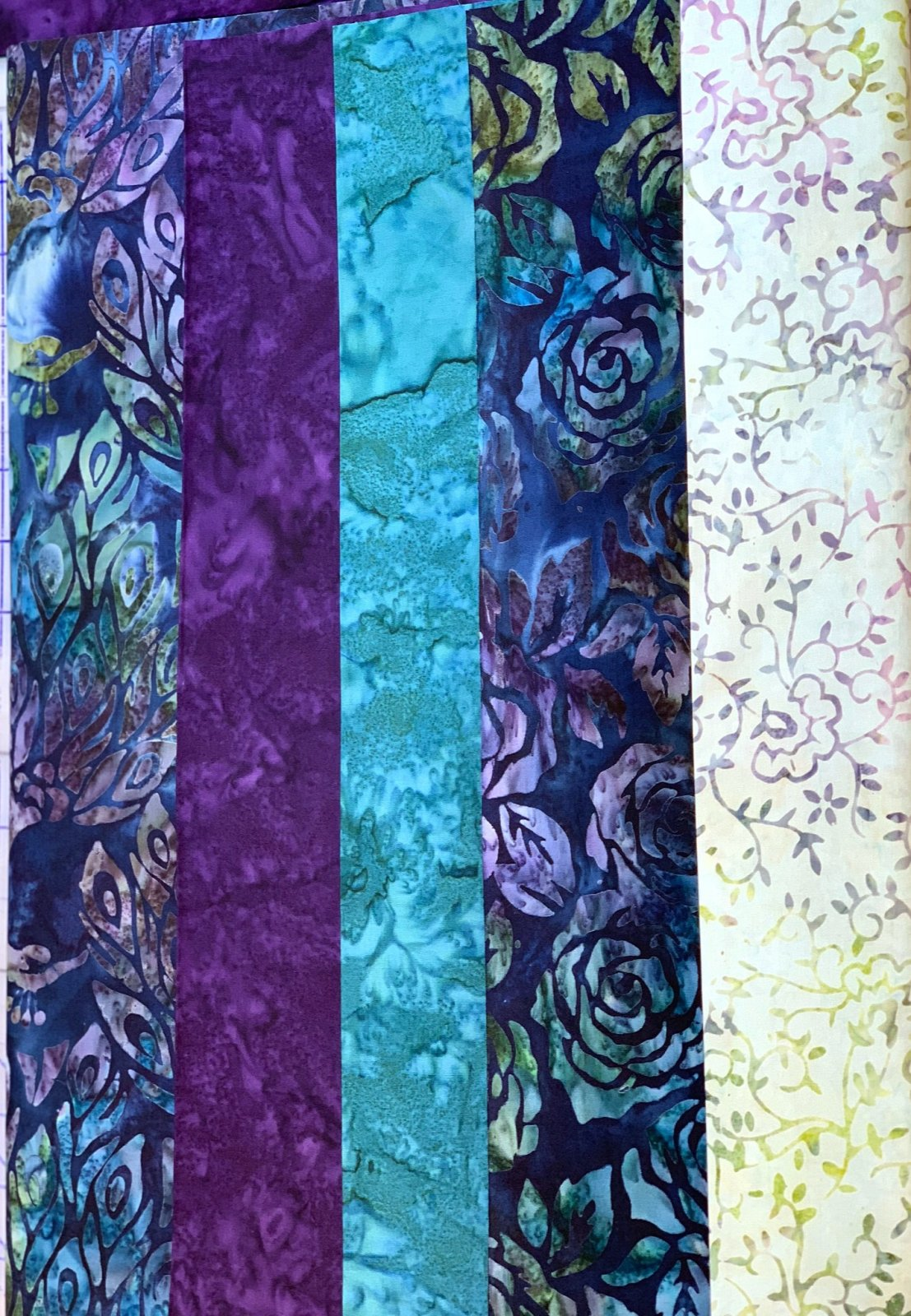 5 Yard Quilt Kit - Fancy Feathers