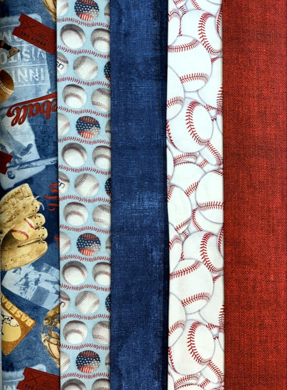 5 Yard Quilt Kit - Baseball