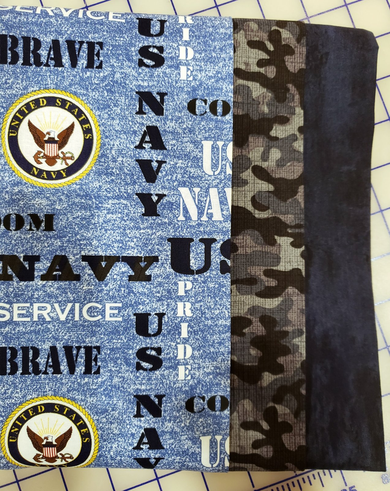 3-Yard Quilt Kit - Navy