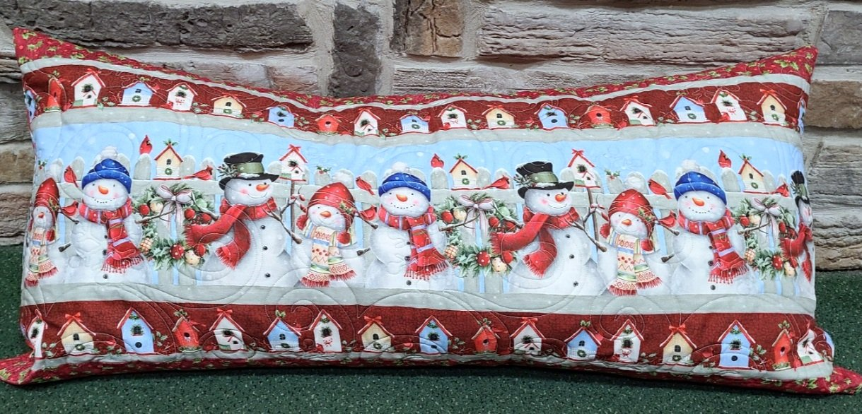Bench Pillow Kit - Winter Welcome
