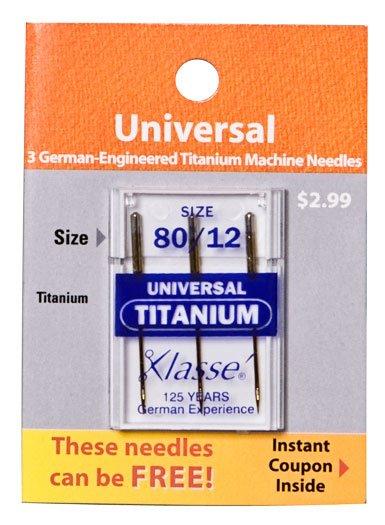 Klasse Universal Titanium 80/12