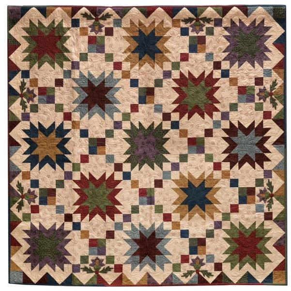 Prairie Sky Quilt Kit W/ Pattern  66 x 66