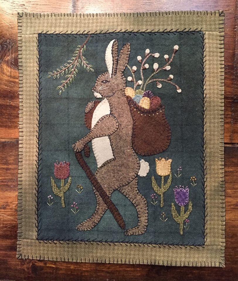 Tulip Lane Mat Pattern