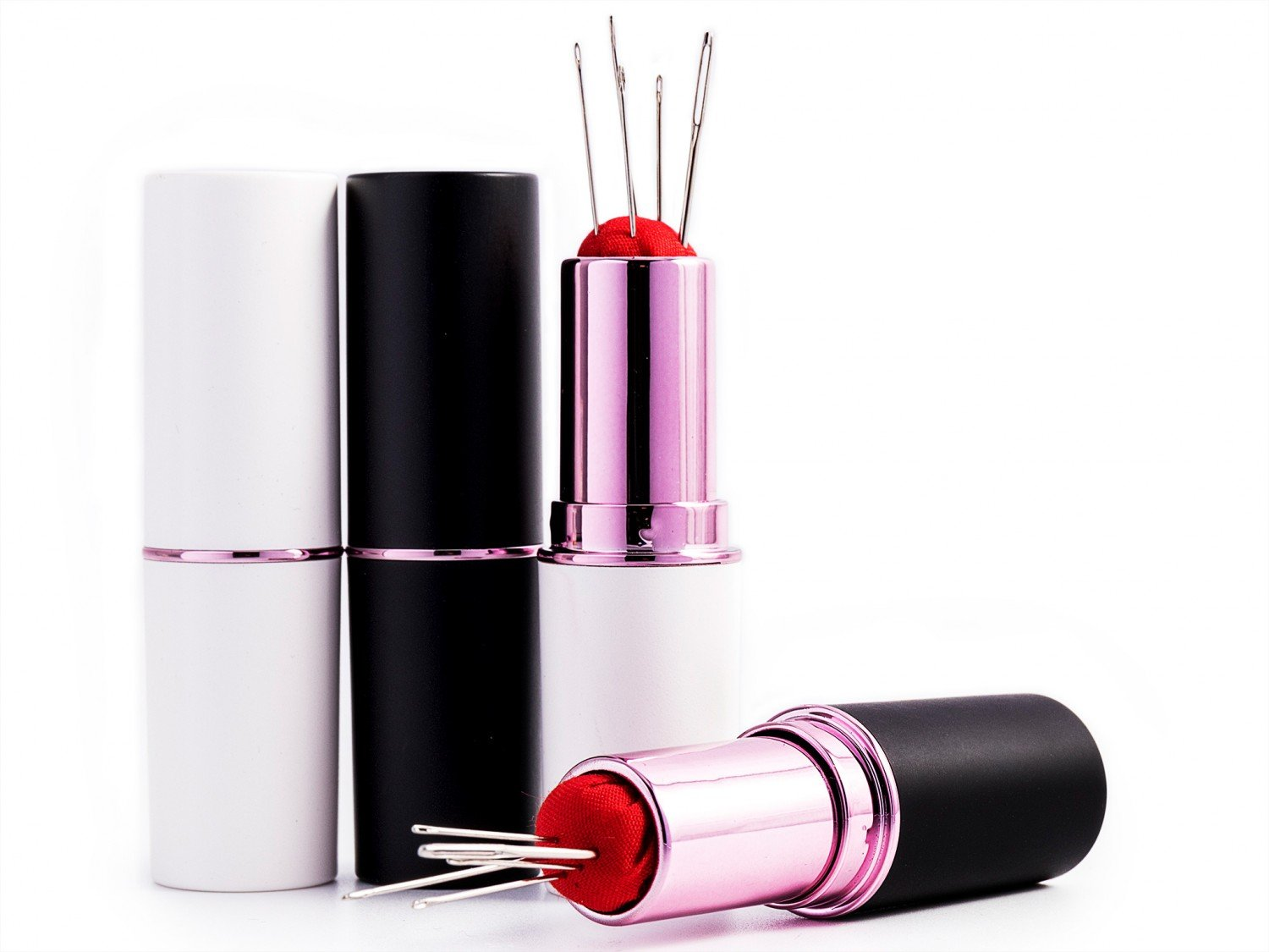 Lipstick Pin and Needle Case