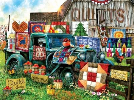 Quilts For Sale 1000pc Puzzle