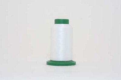 Isacord 1000m Polyester Silky White