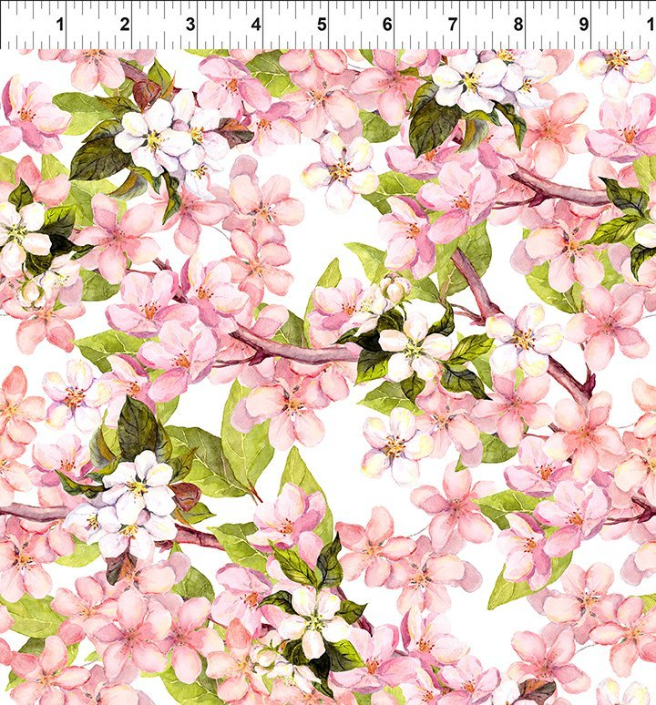 Pretty in Pink - Large Blossoms