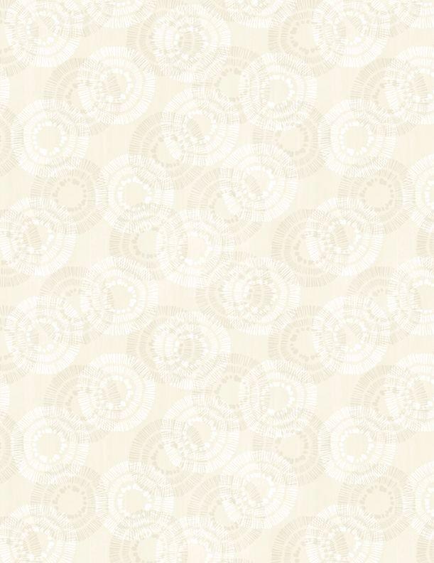 Circle Burst - Ivory