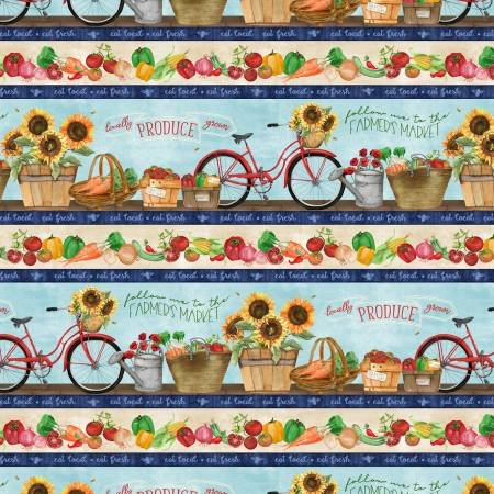 Country Road Market Border Stripe