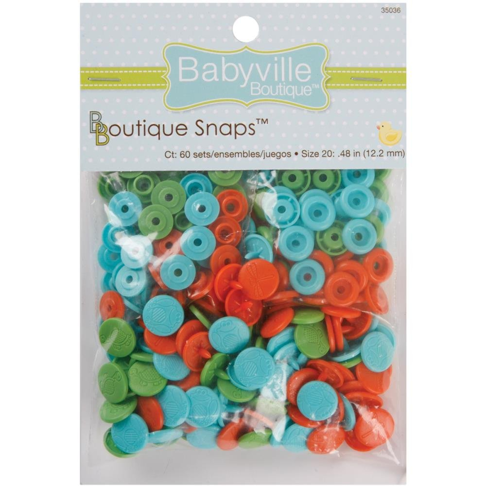 Babyville Snaps- Size 20-60ct- Playful